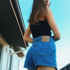 High waisted Levi's Jean Shorts VINTAGE